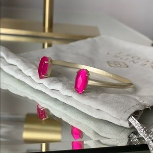Kendra Scott EDIE bracelet pink azalea 🌺